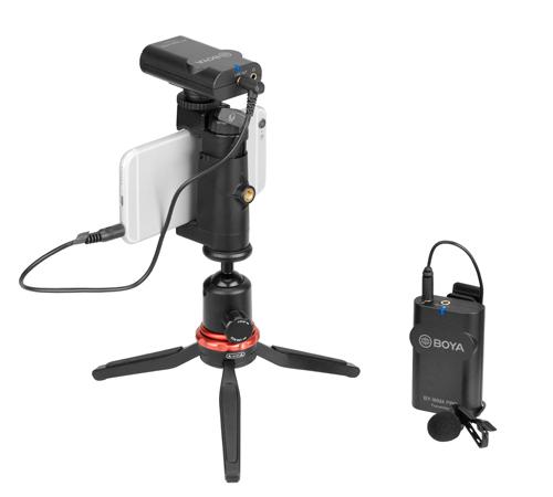изображение BY-WM4 Pro-K1 беспроводного микрофона для телефона