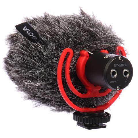 фото микрофона супер-кардиоидного BY-MM1+