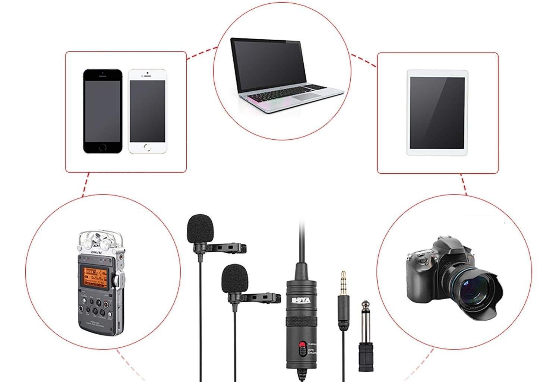 фото BY-M1DM бюджетний мікрофон для блогу
