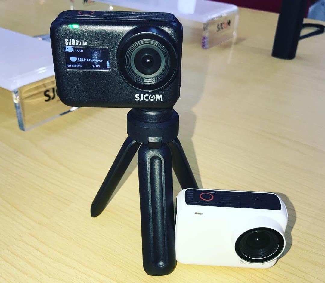 Фото экшн-камер SJCAM SJ9 Max с SJCAM SJ9 Strike