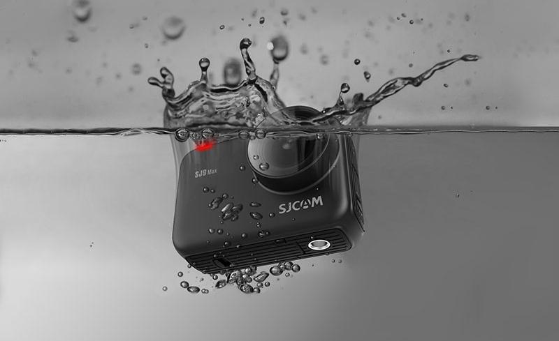 фото герметичности экшн-камеры SJCAM SJ9 Max до 5 метров