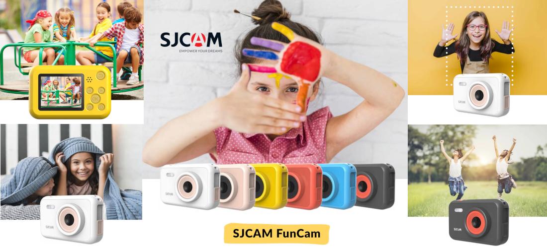 фото экшн-камери для дітей Sjcam FunCam