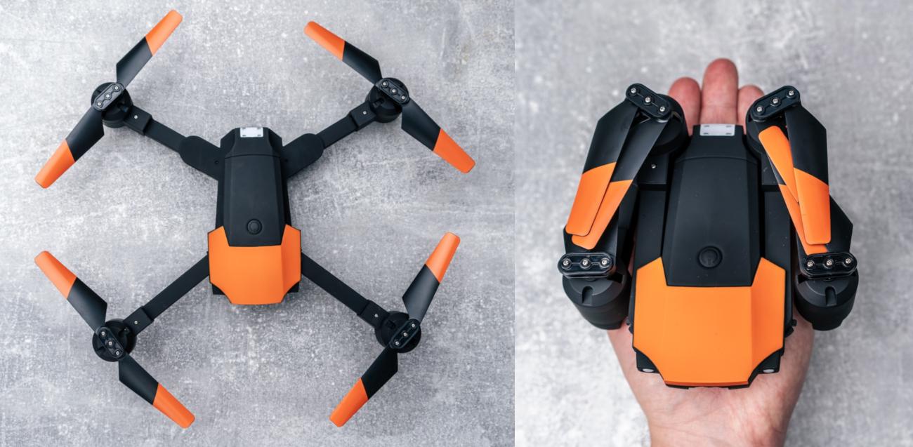 фото складной конструкции Flex Drone Forever