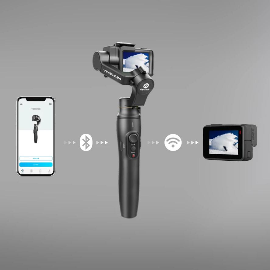 фото подключения к GoPro 8 и телефону