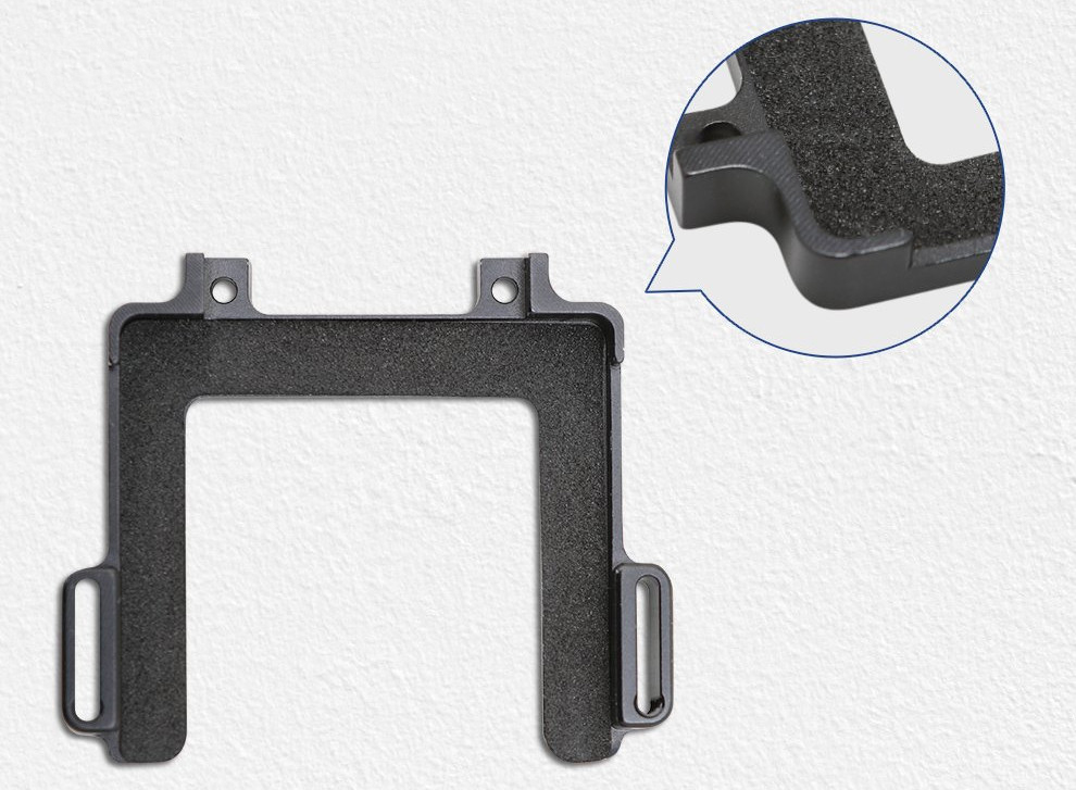 изображение алюминиевой рамки для GoPro 8 со вставкой из этиленвинилацетата