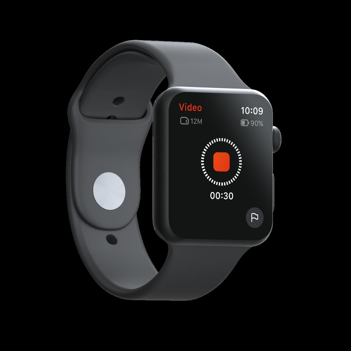 фото управления при помощи Apple Watch