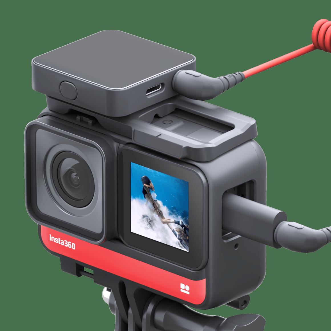 изображение адаптера для микрофона Insta360 ONE R