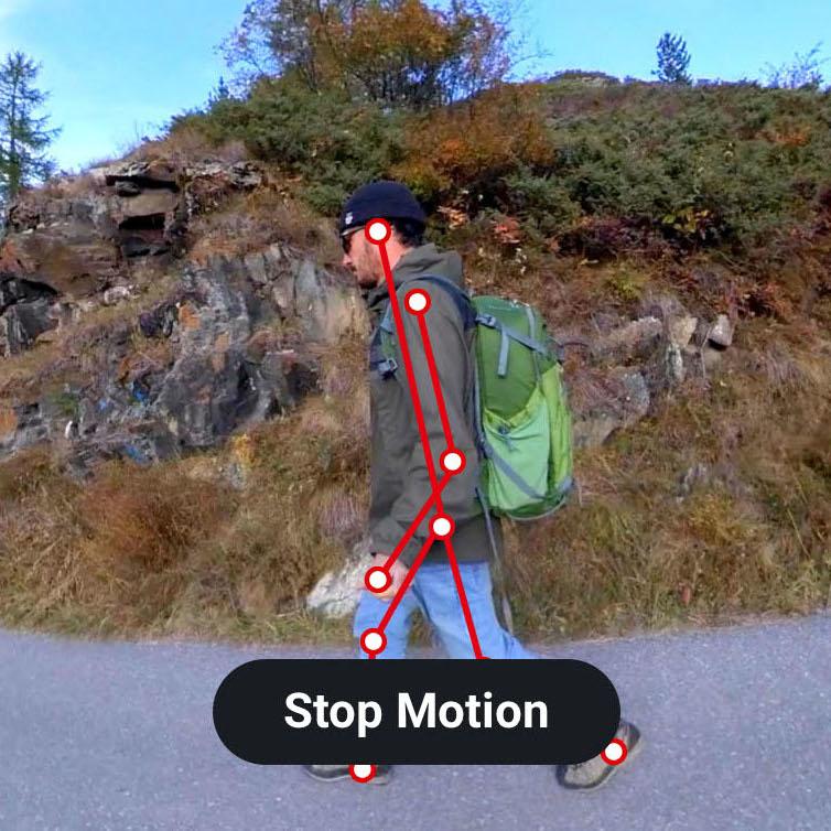 фото эффекта stop-motion