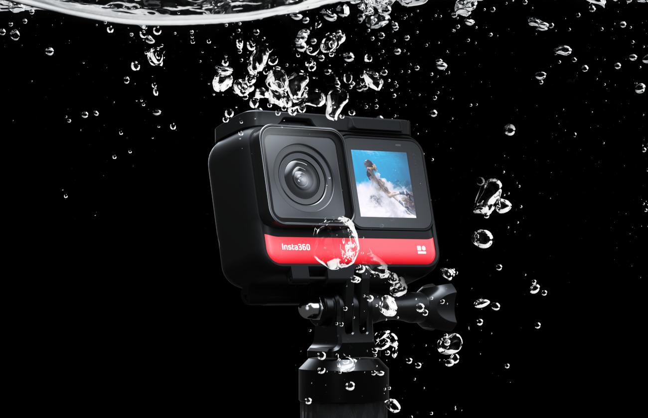 фото герметичности камеры Insta360 ONE R