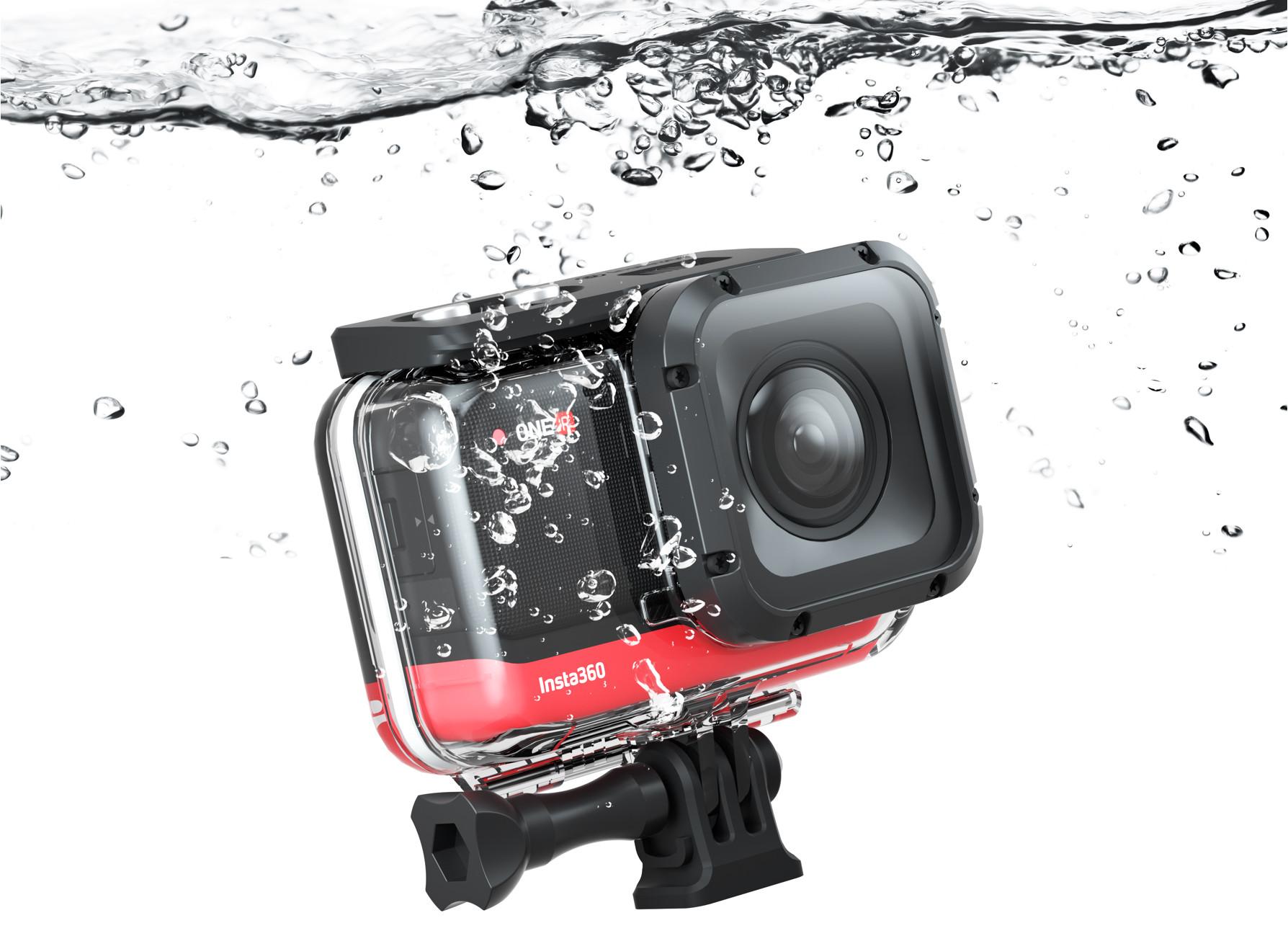 фото подводного бокса Insta360 One R 4K Edition