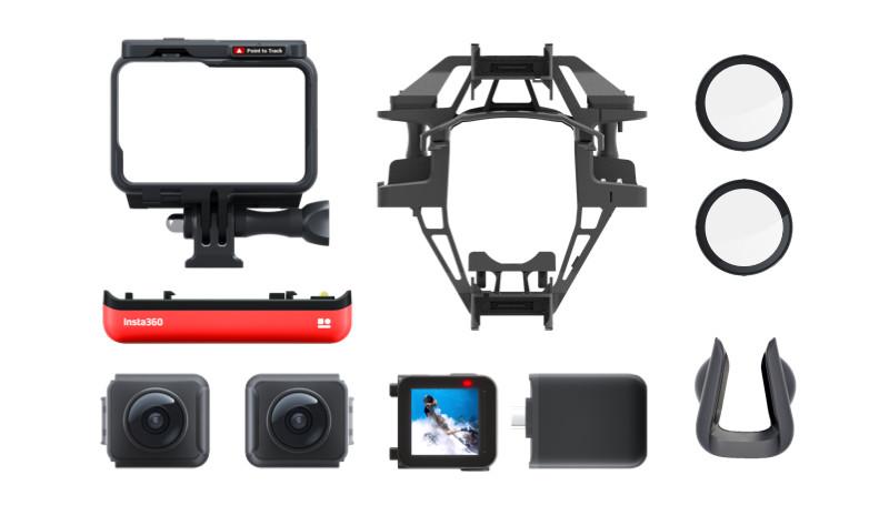 изображения комплекта поставки Insta360 ONE R Aerial Mod