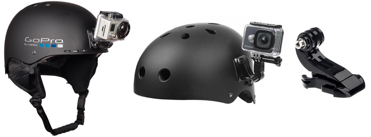 фото крепление на шлем для экшн-камеры