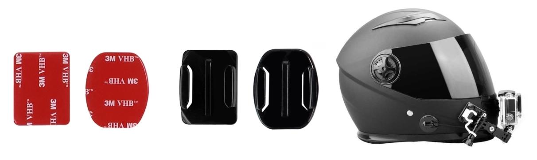 фото адаптер крепления на шлем для экшн-камеры