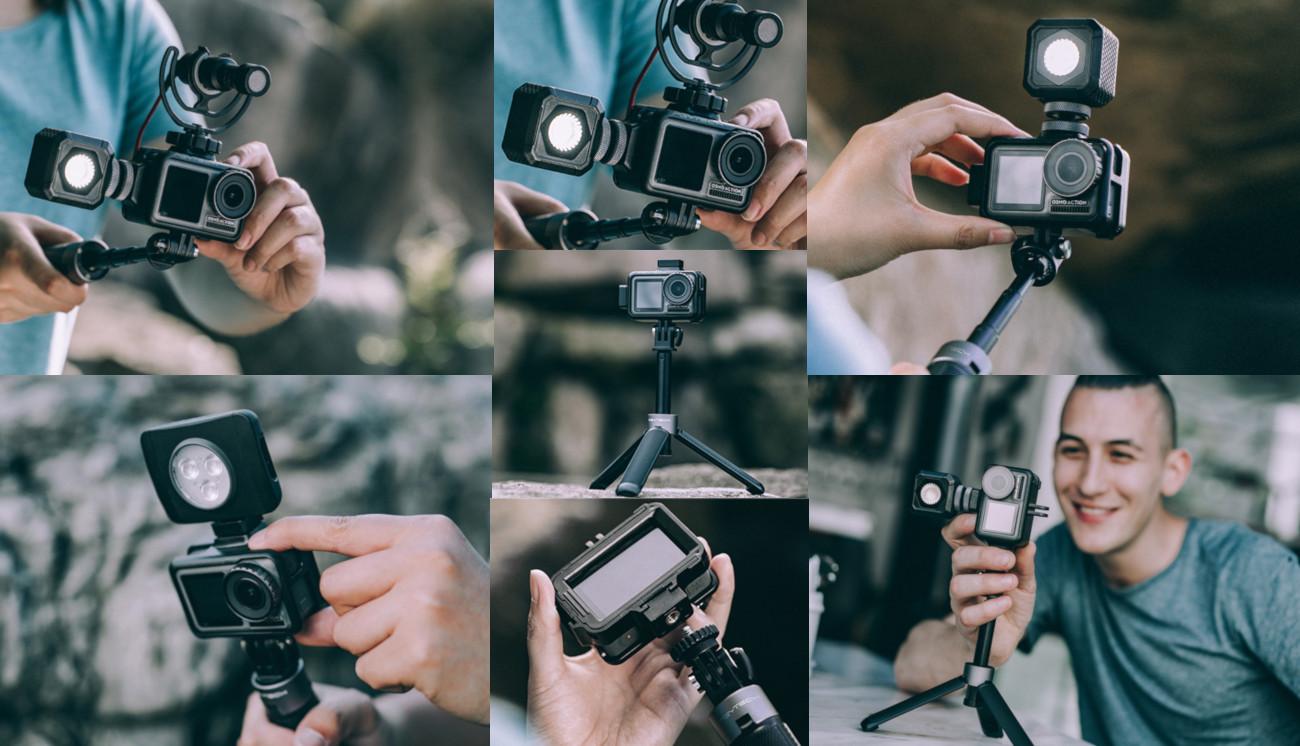 фото PGYTECH рамки для экшн-камеры OSMO Action