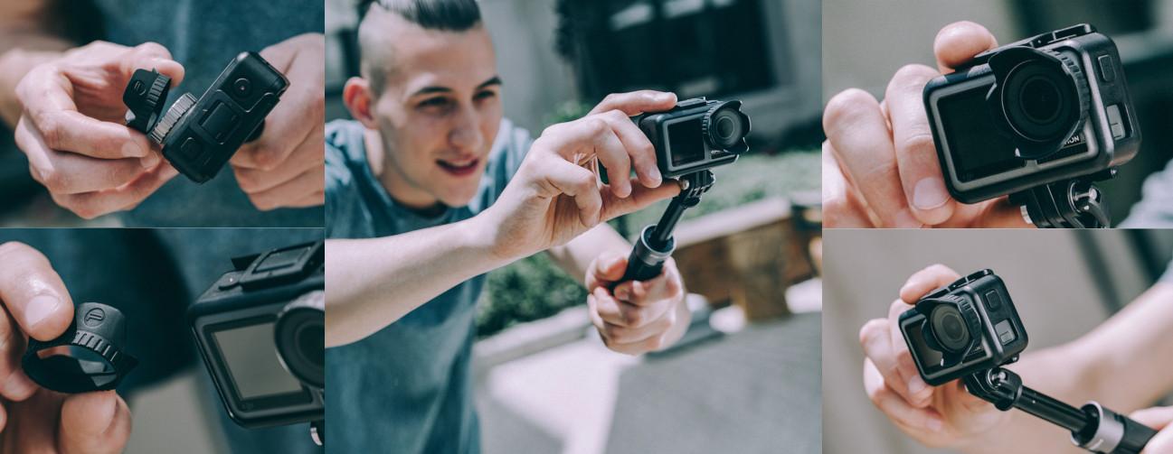 фото бленды для экшн-камеры OSMO Action