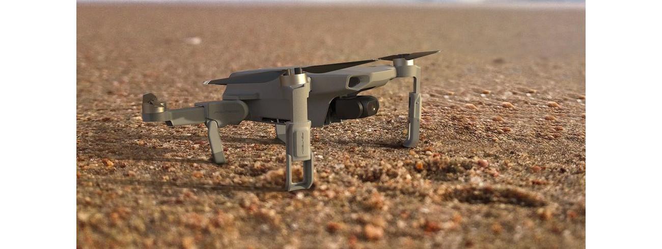 изображение DJI Mavic Mini с удлинителями для посадки