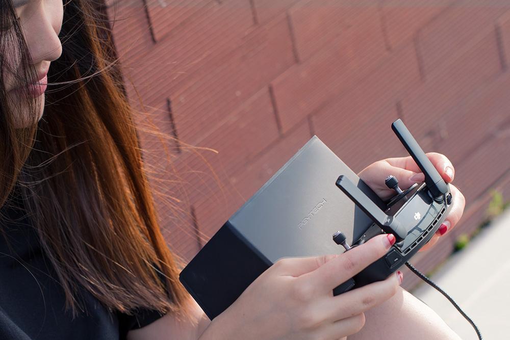 фото шторки на телефон для пульта квадрокоптера DJI