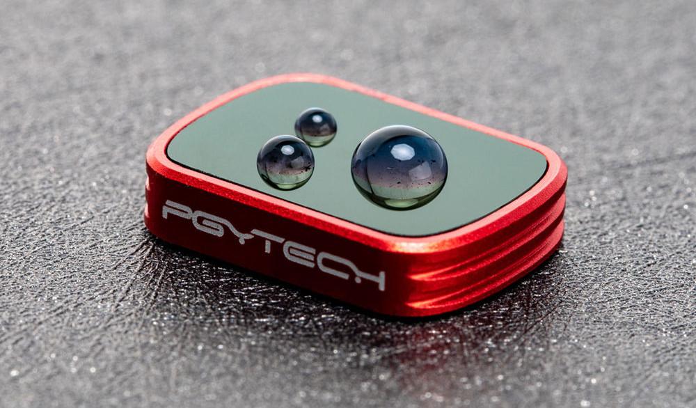 фото водо-маслостойкого покрытия GND фильтра для Osmo Pocket