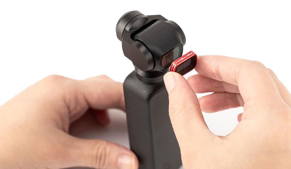 магнитная фиксация GND фильтра для Osmo Pocket
