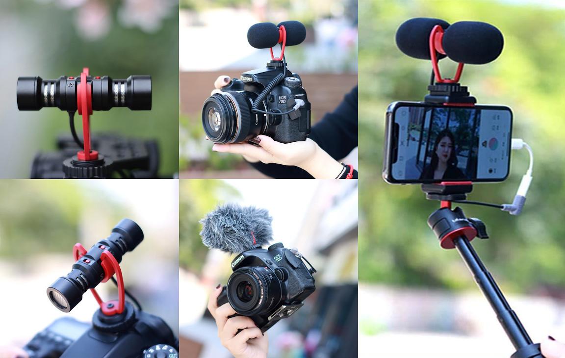 фото двунаправленного микрофона Sairen T Mic для телефона, камеры