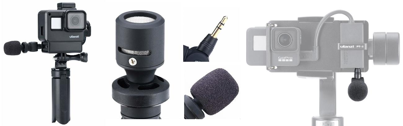 фото микрофон для GoPro Saramonic SR-XM1