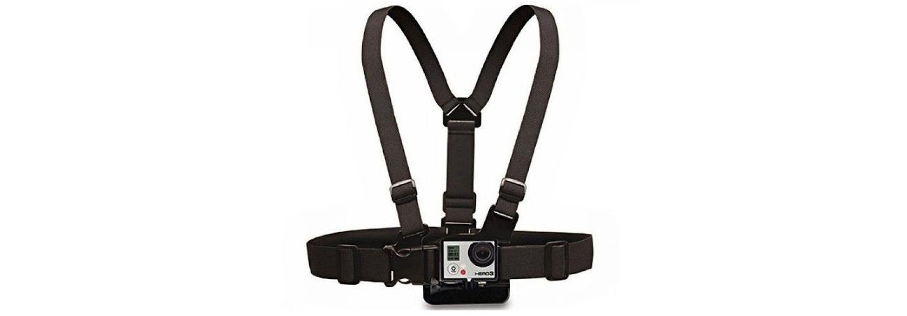 фото крепление на грудь для экшн-камеры
