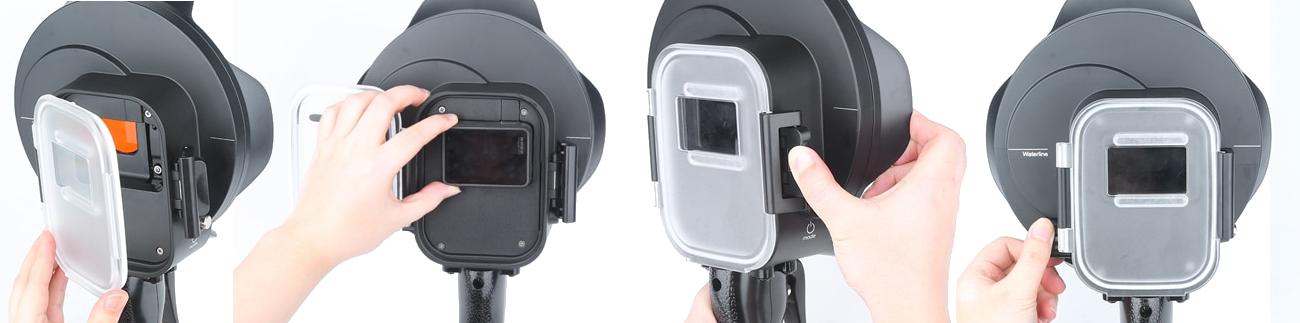 фото установки экшн-камеры в купол для GoPro Hero 7