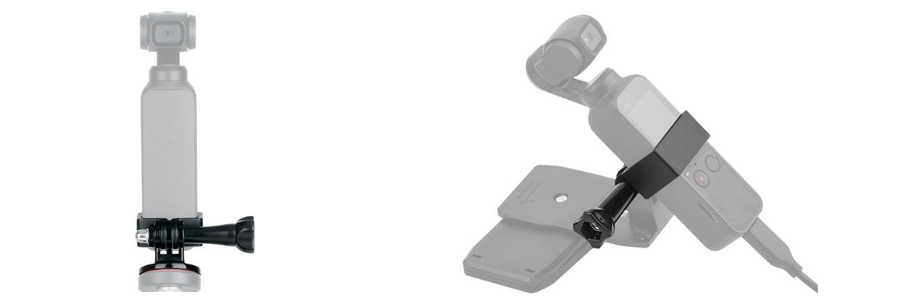 фото адаптера OSMO Action для крепления GoPro