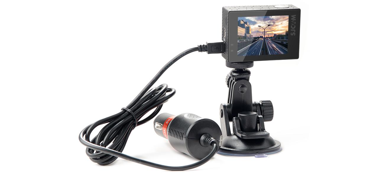 фото комплекта поставки оригинального набора SJCAM SJ6 для видеорегистратора