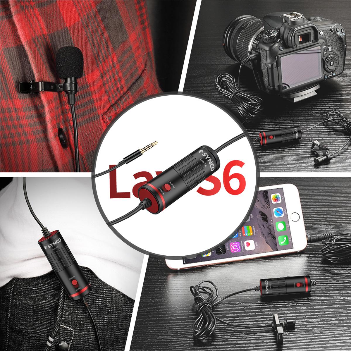 фото Synco Lav-S6 петличный микрофон для телефона