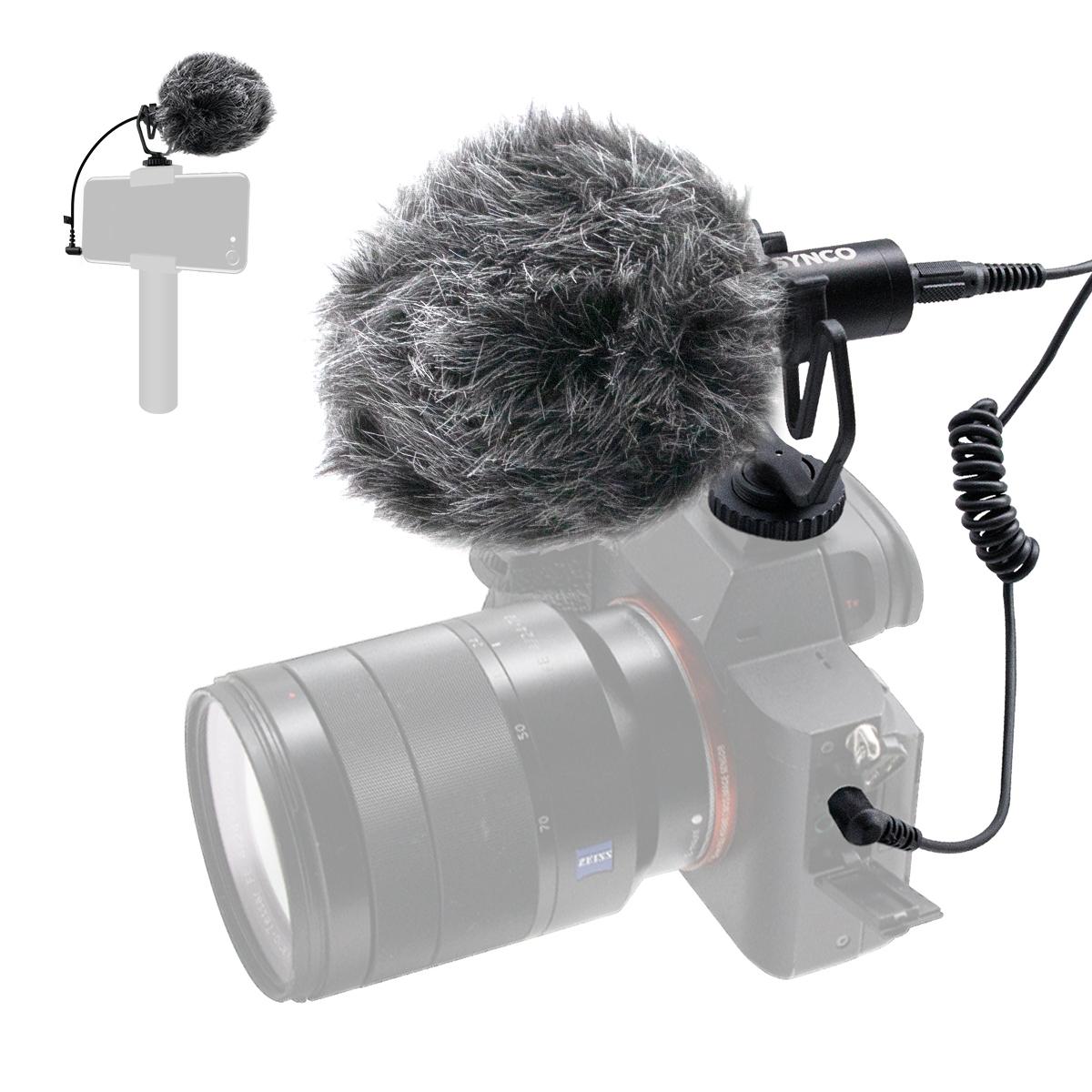 фото накамерного микрофона Synco Mic-M1 для телефона, камеры