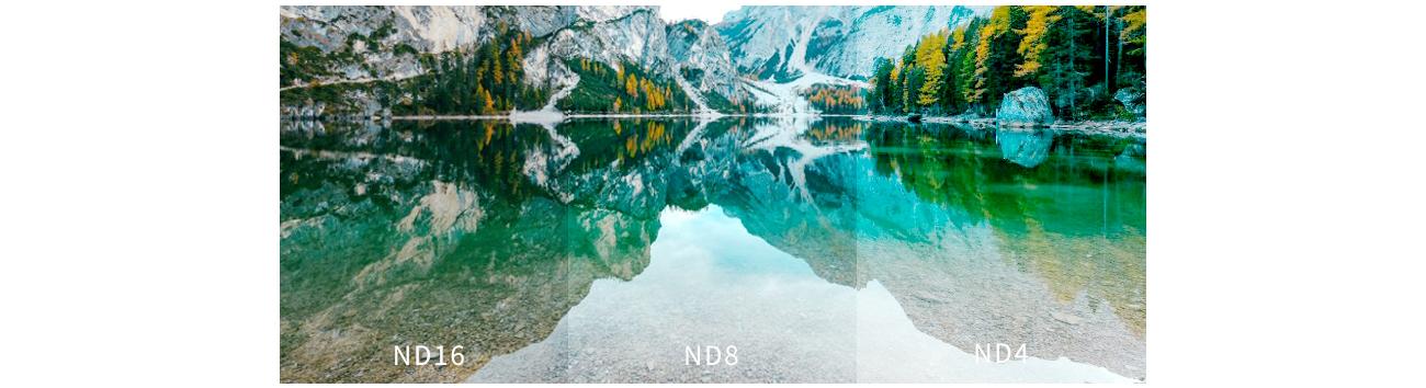 фото отличий в изображении с ND фильтром OSMO Pocket