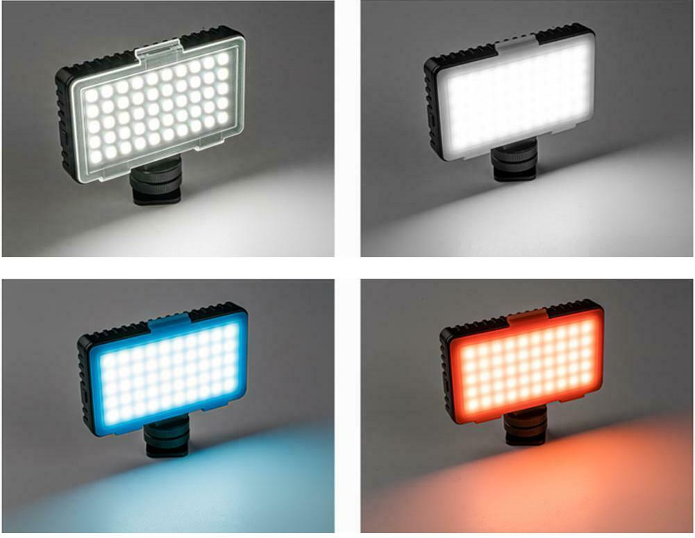 фото чотирьох фільтрів для LED лампи