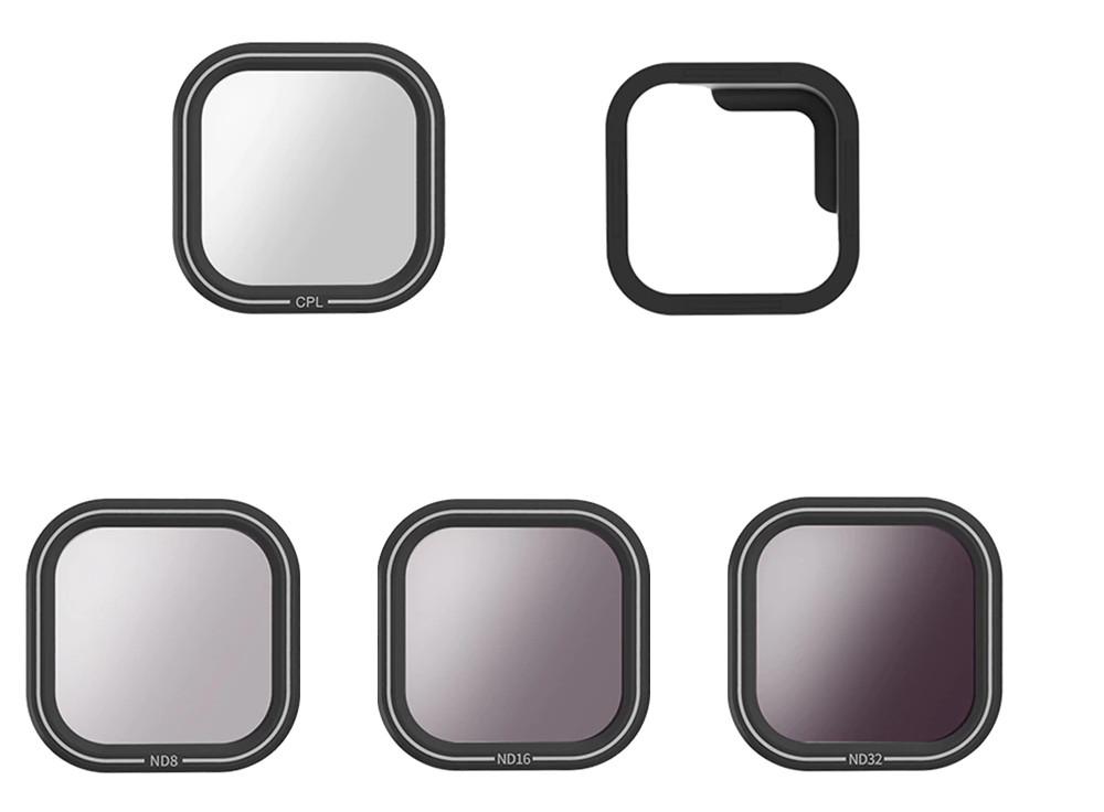 изображение комплектации набора фильтров для GoPro 8