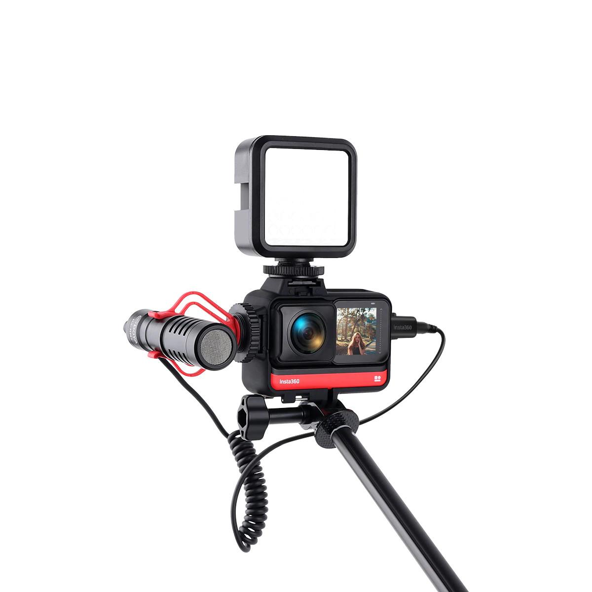 изображение рамки Insta360 One R с креплением для микрофона