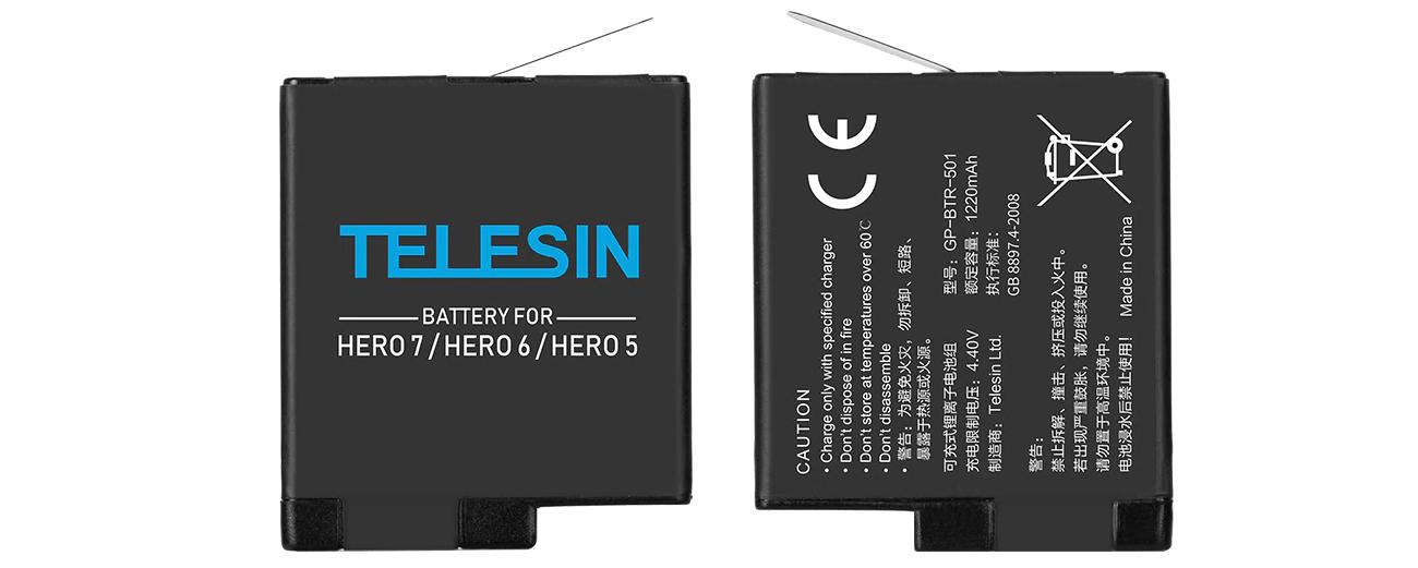 фото Telesin аккумулятор для GoPro Hero 7