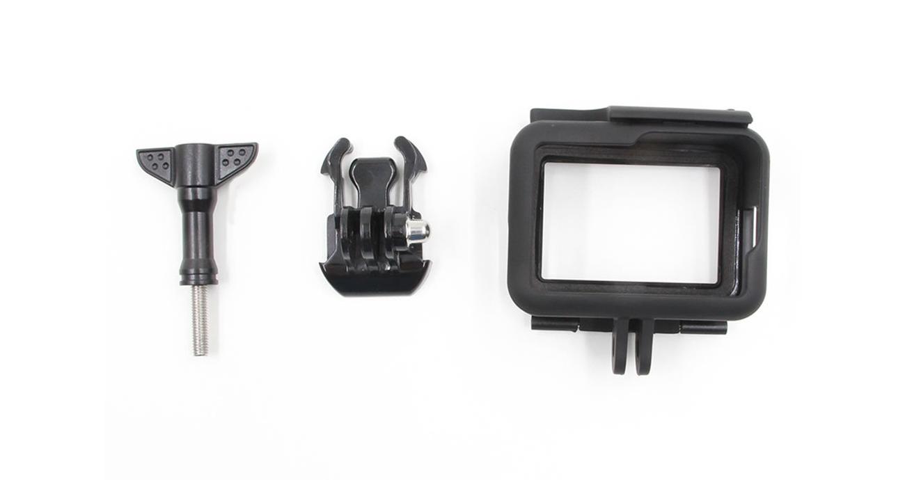 фото комплектації рамки Telesin для GoPro