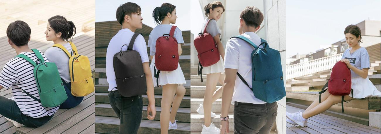 фото Xiaomi Mi Colorful Small оригинального рюкзака